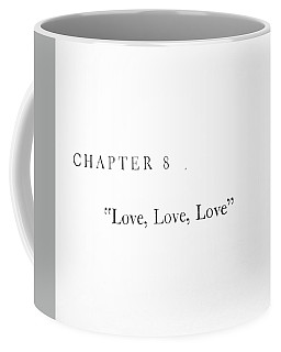 Chapter 8 Love Love Love Squared Coffee Mug by Toni Hopper