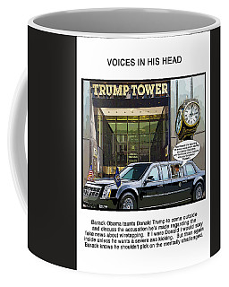 Chapter 9 Voices In His Head Coffee Mug by Joe  Palermo