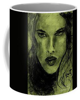 char-Carol Coffee Mug by P J Lewis