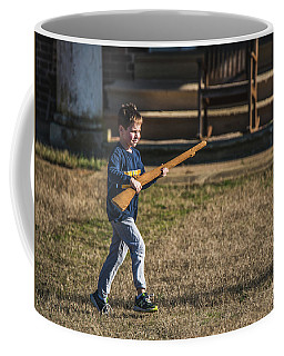 Coffee Mug featuring the photograph Charge by Jeff at JSJ Photography