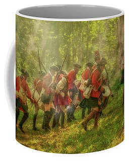 Coffee Mug featuring the digital art Charge Of The British by Randy Steele