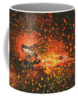 Charged Up Workshop Art Coffee Mug