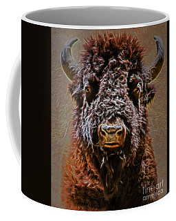 Charging Bison Coffee Mug