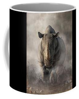 Charging Rhino Coffee Mug