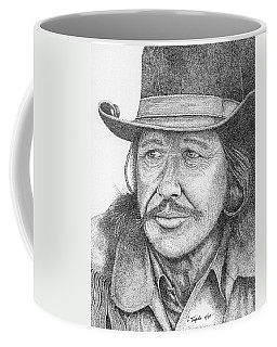 Charles Bronson Coffee Mug by Lawrence Tripoli