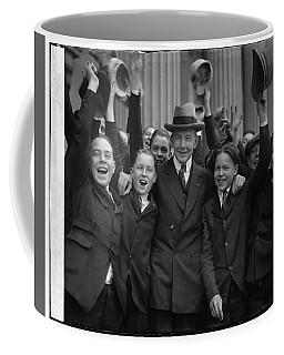 Charles Gates Dawes And Senate Pages Coffee Mug