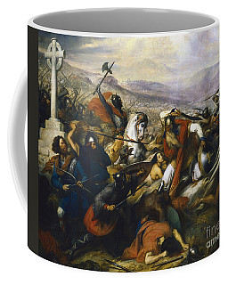 Charles Martel In The Battle Of Tours Coffee Mug