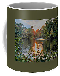 Coffee Mug featuring the photograph Charles River Sunset by Rita Brown