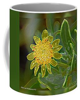 Charleston Neon Floral Coffee Mug