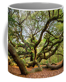 Charleston Sc Angel Oak Tree South Carolina Landscape Coffee Mug
