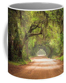 Charleston Sc Edisto Island Dirt Road - The Deep South Coffee Mug