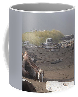 Charlie On Irish Beach Coffee Mug