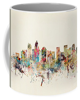 Charlotte City Skyline Coffee Mug