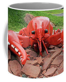 Charlottetown Lobster Coffee Mug