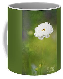 Charming White Cosmos Coffee Mug