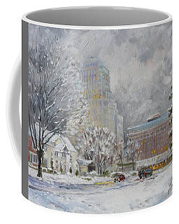Chase Park Plaza In Winter, St.louis Coffee Mug