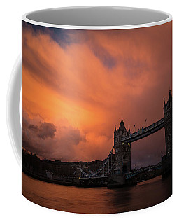 Coffee Mug featuring the photograph Chasing Clouds by Alex Lapidus
