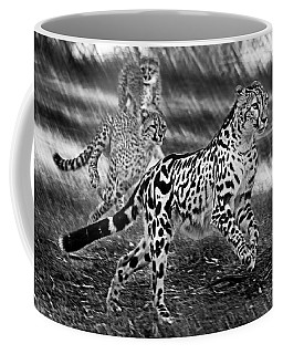 Chasing Mum Coffee Mug by Miroslava Jurcik