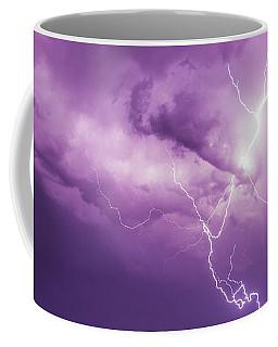 Coffee Mug featuring the photograph Chasing Nebraska Lightning 018 by NebraskaSC