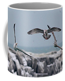 Chasing The Fish Coffee Mug