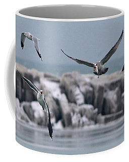 Chasing The Fish, Too Coffee Mug