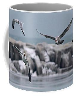 Chasing The Fish, Too Coffee Mug