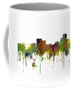 Chatanooga Tennessee Skyline Coffee Mug by Marlene Watson