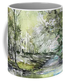 Chateau In Provence  Coffee Mug by Robin Miller-Bookhout