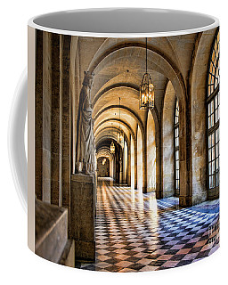 Chateau Versailles Interior Hallway Architecture  Coffee Mug