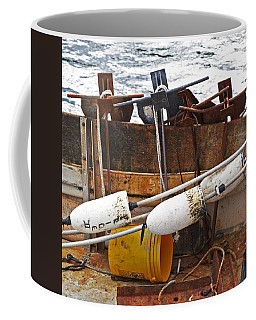 Coffee Mug featuring the photograph Chatham Fishing by Charles Harden