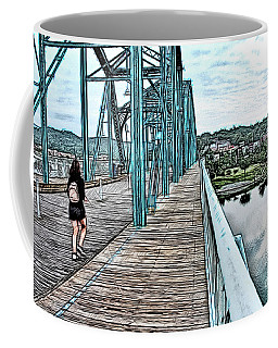 Chattanooga Footbridge Coffee Mug