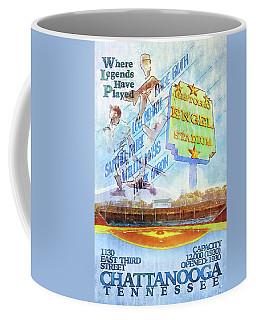 Chattanooga Historic Baseball Poster Coffee Mug