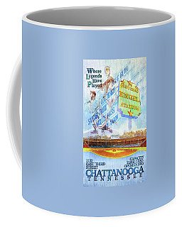 Chattanooga Historic Baseball Poster Coffee Mug