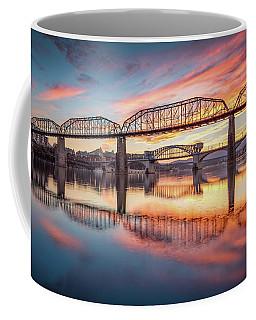 Chattanooga Sunset 5 Coffee Mug by Steven Llorca