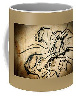 Chauvet Cave Lions Coffee Mug