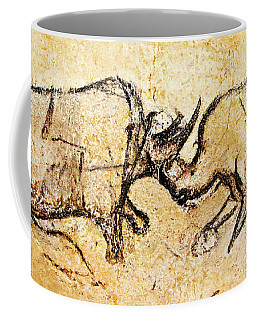Chauvet Rhinoceros In Combat Coffee Mug