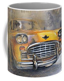 Checker Taxi Coffee Mug