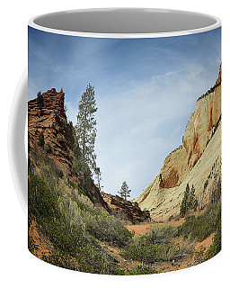 Checkerboard Mesa Coffee Mug