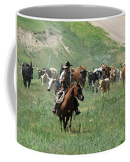 Checking The Cattle Coffee Mug