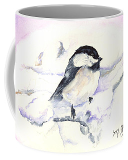 Cheeky Chickadee Coffee Mug