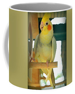 Cheerful Cockatiel Coffee Mug