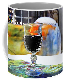 Coffee Mug featuring the photograph Cheers To A New Duvet by Lisa Kaiser