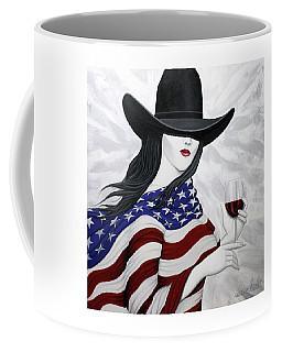 Cheers To America 1 Coffee Mug by Lance Headlee