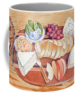 Cheese Plate For A Party Coffee Mug