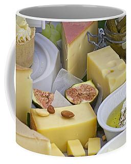 Cheese Plate Coffee Mug