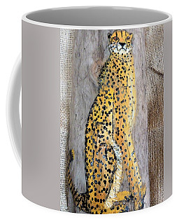 Cheetah Coffee Mug by Ann Michelle Swadener
