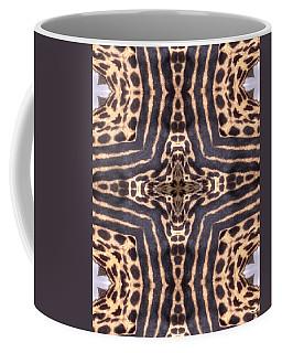 Cheetah Cross Coffee Mug by Maria Watt