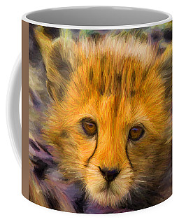 Cheetah Cub Coffee Mug by Caito Junqueira