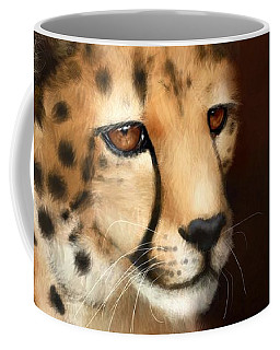 Cheetah Eyes Coffee Mug