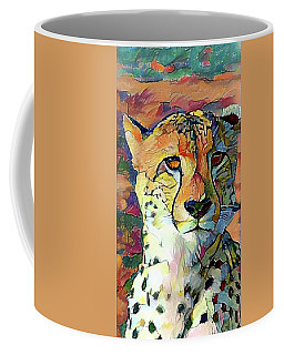Cheetah Face Coffee Mug